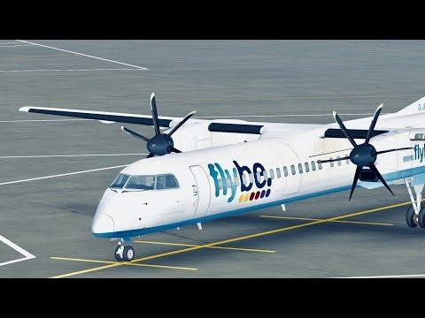 Infinite Flight Global - Dash 8-Q400 - Edinburgh - Belfast