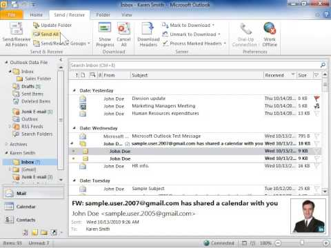 Outlook 2010 Send all Messages in the Outbox Immediately