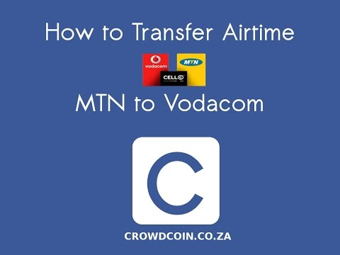 How to transfer airtime: MTN to Vodacom
