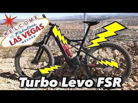Specialized Turbo Levo FSR Test Ride and Review | E-Mountain Biking | Las Vegas Bears Best Trail