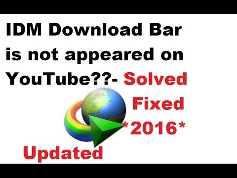 Fix Attempted to DownGrade IDM Chrome Extension