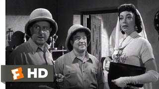 Abbott and Costello Meet the Mummy (1955) - Selling the Medallion Scene (4/10) | Movieclips