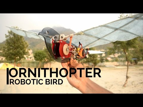 🎥HOW TO MAKE ROBOTIC BIRD | ORNITHOPTER | PART 2