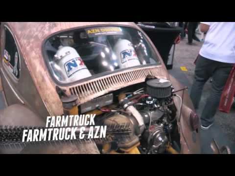 NItrous Express action from the 2015 PRI Show!