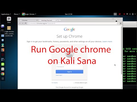 How to Install & Run Google Chrome on Kali Linux 2.0 Sana by fixing all Errors