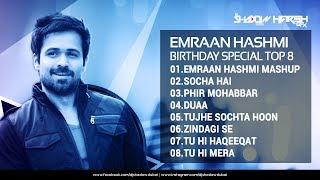 Emraan Hashmi Birthday Special TOP 08 | DJ Shadow Dubai Remixes | Audio Jukebox