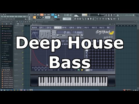 Deep House Bass Tutorial in FL Studio
