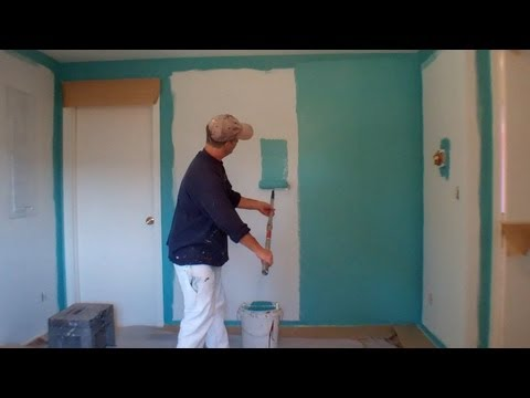 Interior Painting Step 3: Painting the Walls