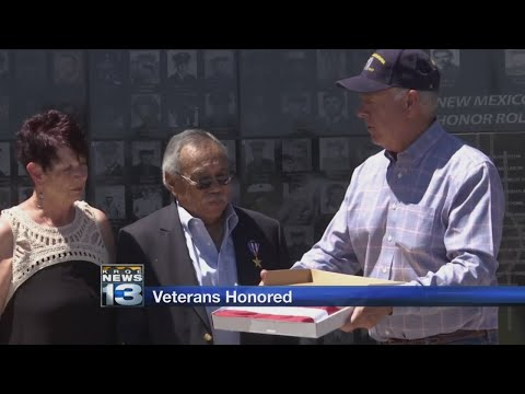 2 New Mexico veterans honored with Medals of Service