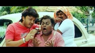 Sangama - Straight Forward Sadhu   Golden Star Ganesh,Sadhu Kokila Comedy Movie   Jhankar Music