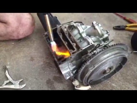 How to remove broken rusted bolt stuck in engine block