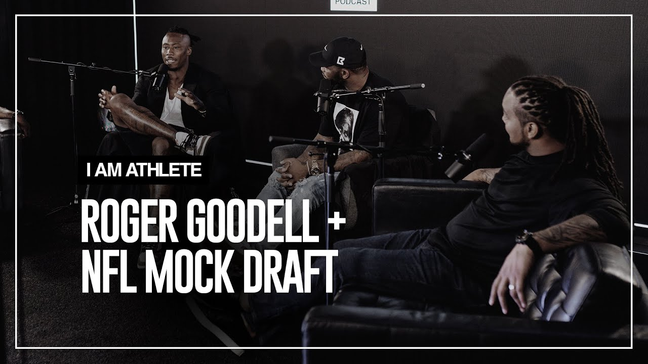 Roger Goodell and Our NFL Mock Draft | I AM ATHLETE Ep.1