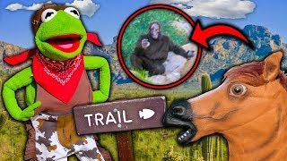 Kermit the Frog's Cowboy Nature Tour! (We found Bigfoot)