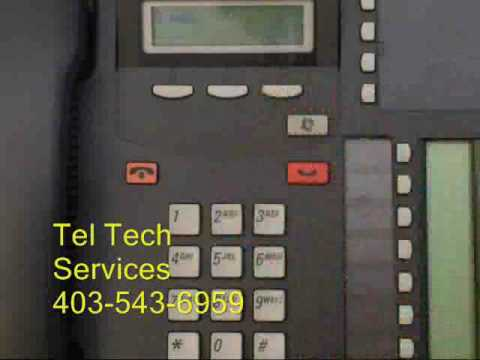 Nortel Phone - Change Voicemail Password Newer System
