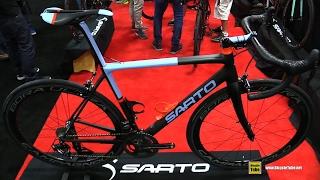 2017 Sarto Seta Road Bike - Walkaround - 2016 Interbike Las Vegas