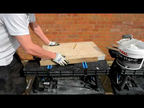 Build a Tiled Table Top