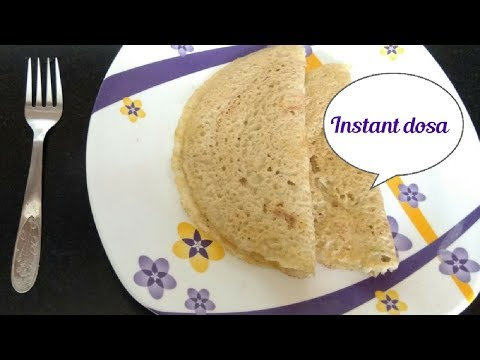 Instant raw banana dosa||valakkai/balekai dosa||வாழைக்காய் தோசை