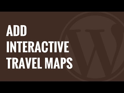 How to Add Interactive Travel Maps in WordPress