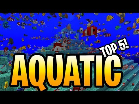 Minecraft Update Aquatic Top 5 Things To Do Day 1! PS3, PS4, Xbox 360, Wii U & Switch