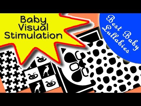 STOP BABY CRYING Soothing Calm Stop Crying  Newborn Baby Visual Sensory Stimulation Video