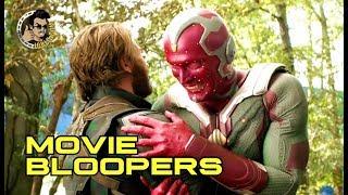 Download AVENGERS INFINITY WAR Bloopers Gag Reel #1 (2018) Marvel Movie Video