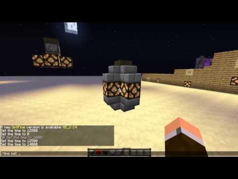 Minecraft Redstone Lamp Post feat. Daylight Sensor [1.5 and newer]