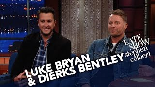Luke Bryan & Dierks Bentley Share The Secret To Hosting An Awards Show
