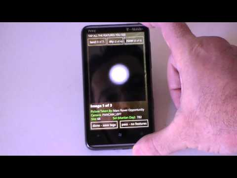 Windows Phone 7 App Showcase: Be A Martian