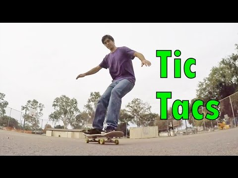 1.4: Tic Tacs - Freestyle Skateboarding Lessons