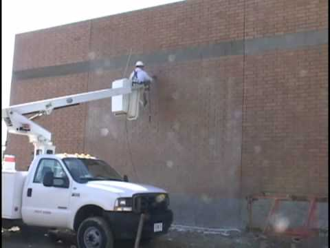 NMD 80 - clay brick cleaning - new masonry