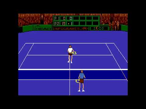 An amazing tennis video game holy guacamole