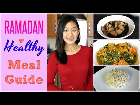 RAMADAN Healthy Meal Guide & Recipes