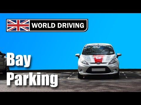 How to do reverse bay parking: bay park a car- easy tips (UK driving test maneuvers)