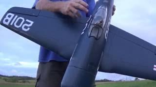 Eleven Hobby F8f Bearcat Maiden Flight