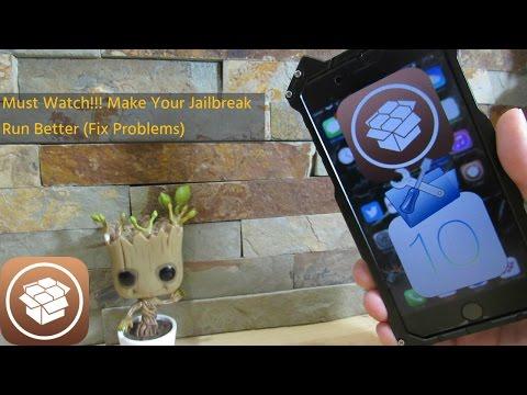 Make Your IOS 10 Jailbreak Run Better (Cydia Update)( Fix mach_porta)