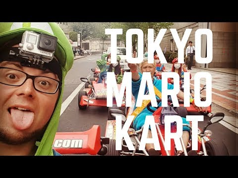TOKYO MARIO KART - Crazy Things to do in Tokyo, Japan in 2017!