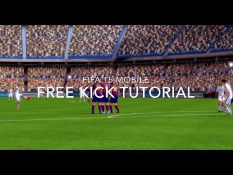 Fifa 15 iOS/Android Free Kick Tutorial