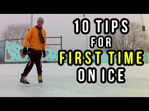How to Ice Skate - Ten Tips for Absolute Beginners