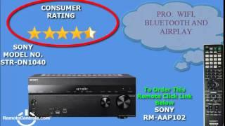 Review Sony A-V Receiver 7.2-channel 4K Wi-Fi Network - STR-DN1040