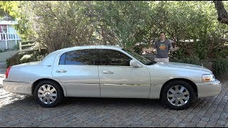 The Lincoln Town Car Was the Last True American Luxury Sedan