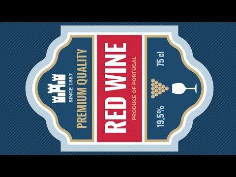 Creating a Vintage Wine Label Design - Coreldraw Tutorials