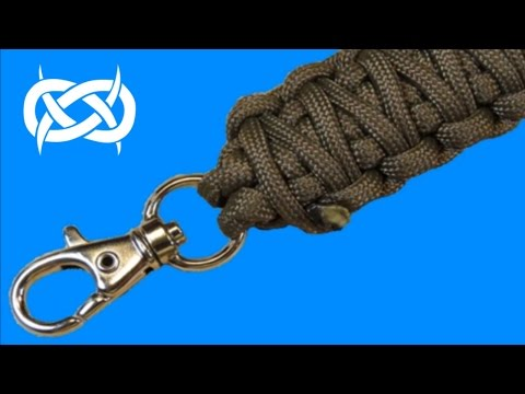 How to make a Keychain Paracord Lanyard