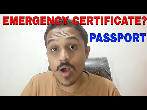 HOW TO GET PASSPORT IF YOU RETURN TO INDIA ON EMERGENCY CERTIFICATE? ALL INFO!! HINDI