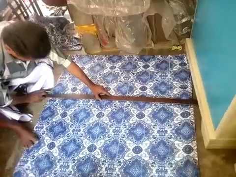 How to make foldable rasaai type mattress kapok silk cotton ilavam panju?? Marking
