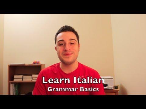 Learn Italian Ep.05 - The Present Tense | Grammar Basics 1