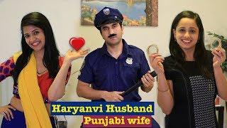 Haryanvi Husband Punjabi Wife   Episode 8 - Kangan   Lalit Shokeen Films