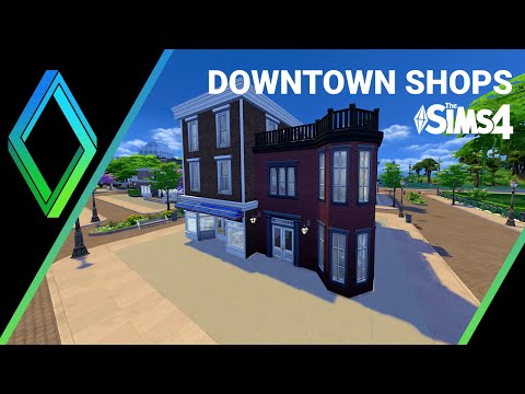 The Sims 4 Building - Get To Work Shop