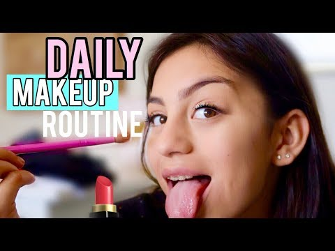 MY DAILY MAKEUP ROUTINE! VLOG 2