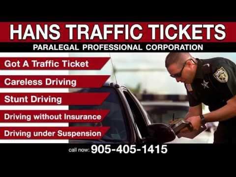 Hans Traffic Tickets in Malton, Mississauga & Brampton