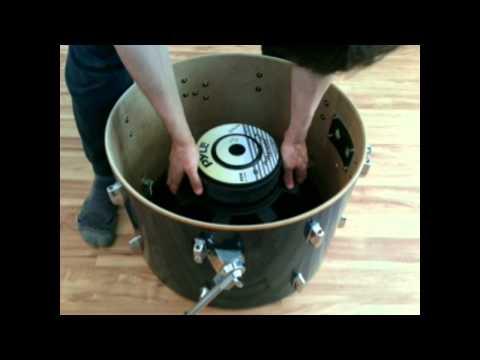 Infrasonic (sub-audible) resonant sub-woofer & boom base cannon